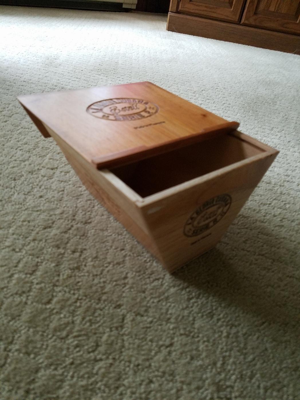 cigar-box